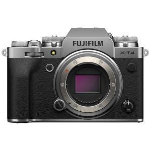 Fujifilm X-T4 Body - Silver - front