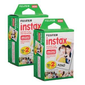 Fujifilm Instax Mini Instant Film 40pk (Mini8/Pol300)