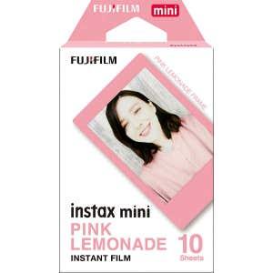 Fuji Instax Mini Instant Film 10 Shot - Pink Frame