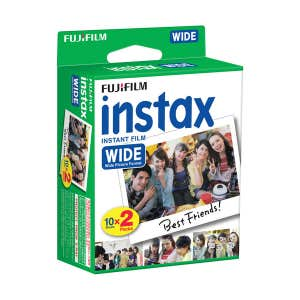 Fuji instax Wide Film Twin Pack (20 Shots)