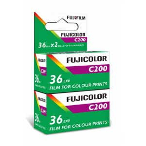 Fujicolor C200 Colour Film 35mm 36exp - Twin Pack