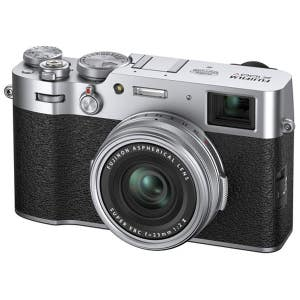 Fujifilm X100V - Silver - angle