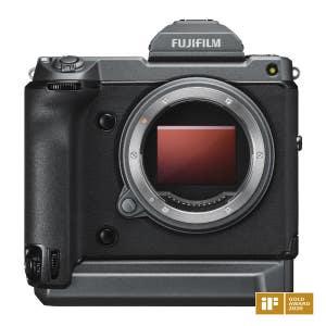 Fujifilm GFX 100 - front view