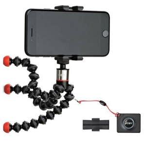 Joby GripTight One w/ Magnetic Gorillapod + Remote