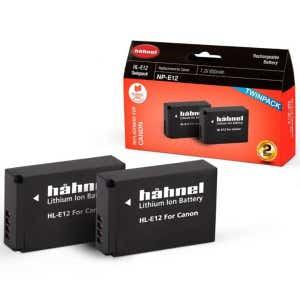 Hahnel Canon LP-E12 - Twin Pack