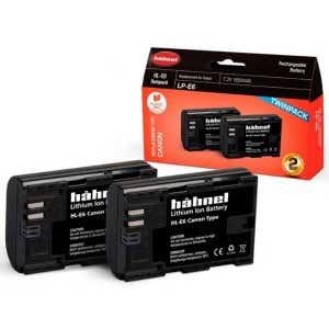 Hahnel Canon LP-E6 - Twin Pack