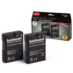 Hahnel Nikon EN-EL14 - Twin Pack