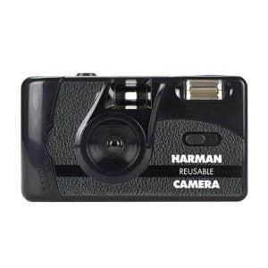 Harman Reusable 35mm Film Camera - with 2x Film