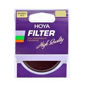Hoya 72mm R 72 Filter