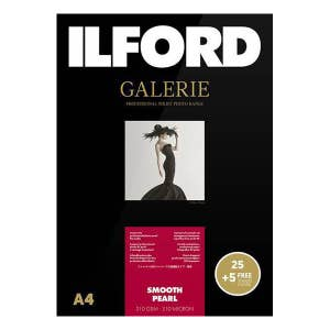 Ilford Galerie Smooth Pearl Inkjet Photo Paper A4 25+5 Sheets
