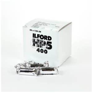 Ilford HP5+ B&W Film 35mm Pro Pack - 50x 36-exp