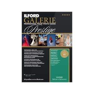 Ilford Galerie Prestige Gloss Inkjet Photo Paper A4 25 pk