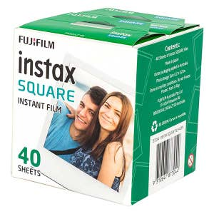 Fujifim Instax SQ Square Instant Film - 40 Shot Pack