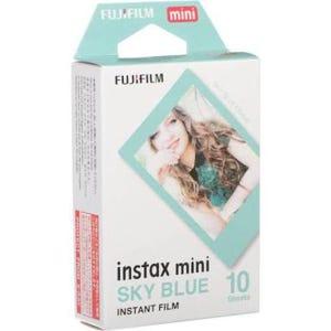 Fuji Instax Mini Instant Film 10 Shot - Blue Frame