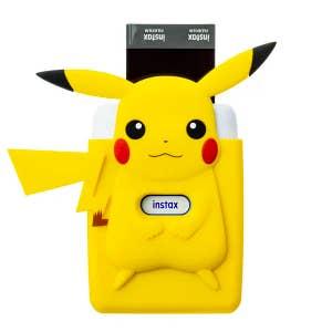 Fujifilm Instax Mini Link Printer - Nintendo Edition with Pikachu Case