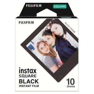 Fujifilm Instax SQ Square Film - Black Frame
