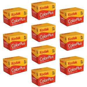 Kodak GB ColorPlus 135 36exp 200 ISO - 10 Pack