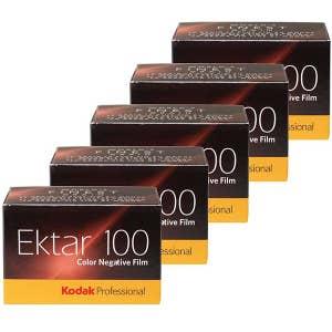 Kodak Ektar 135 36exp 100 ISO Film