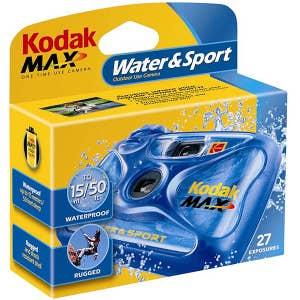 Kodak Max Water & Sport 27 EXP Single Use Camera