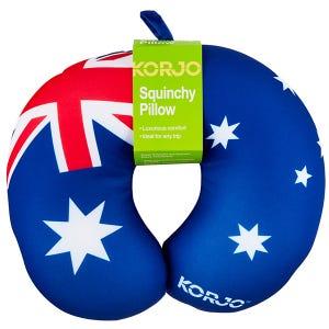 Korjo Squinchy Pillow -  Aus Flag