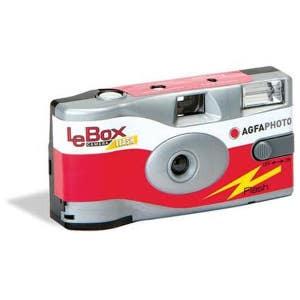 Agfa Le Box Flash Single Use Camera - 27 Exposure