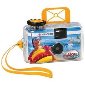 Agfa Le Box Ocean Single Use Camera - 27 Exposure