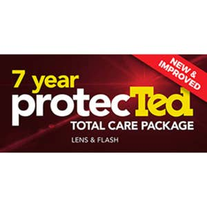 Total Care Package (5 Year) Lens/Flash Up to $300
