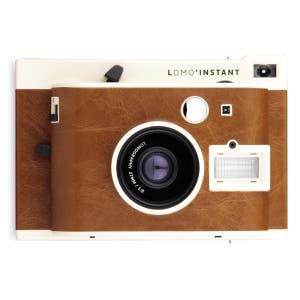 Lomo LI100 Instant Camera - Brown