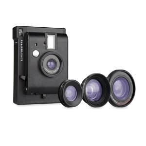 Lomo LI800 Instant Camera + 3 Lens Kit - Black