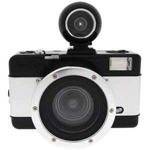 Lomo Fisheye No.2 35mm Camera - Black/Silver