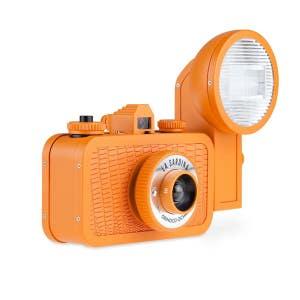 Lomo La Sardina Camera + Flash - Orinoco Ochre