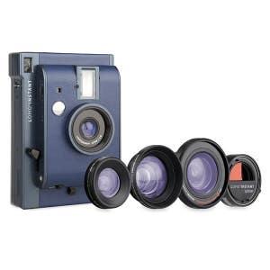 Lomo Li800x Reykjavik +3 Lens Instant Kit Blue