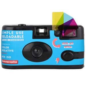 Lomography Single Use Camera with Flash - Colour Negative 400 ISO
