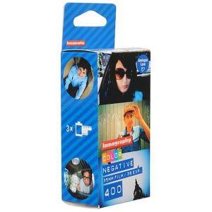 Lomo 400 ISO Colour Film 35mm 36exp - 3 Pack