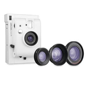 Lomo LI800 Instant Camera + 3 Lens Kit - White