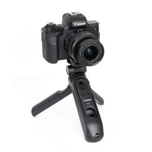 Canon EOS M50II + 15-45mm & HG100TBR Tripod - Vlog Kit