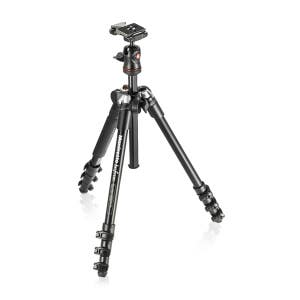 Manfrotto BeefreeTripod 4 Section with Ball Head