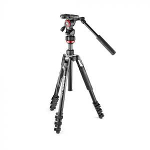 Manfrotto Befree Live Lever Video Tripod