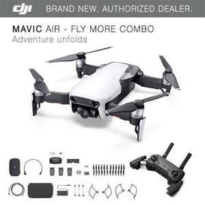DJI Mavic Air Drone Fly More Combo - White
