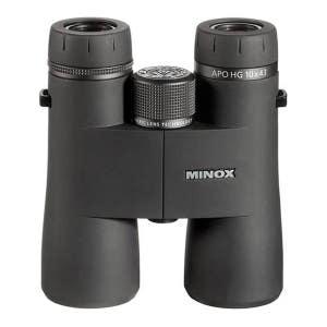 Minox APO HG 10x43 Black Binoculars