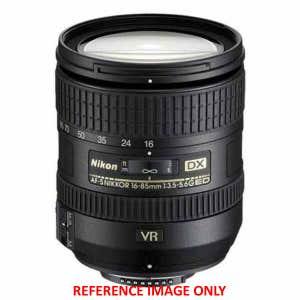 Nikon AF-S 16-85mm f3.5-5.6 ED VR