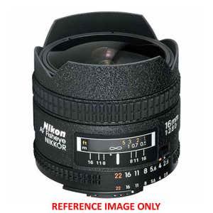 Nikon AF 16mm f2.8 D Fisheye | Secondhand