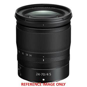 Nikon Z 24-70mm F4 S Zoom   Second Hand - Angle