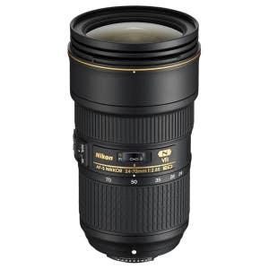 Nikon AF-S 24-70mm f2.8E ED VR FX