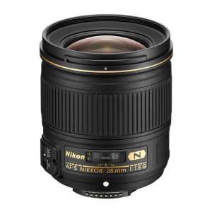 Nikon AF-S 28mm f1.8 G - front