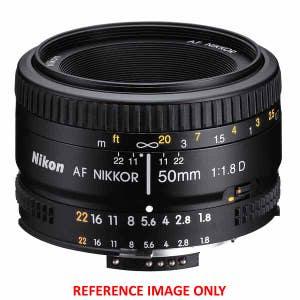 Nikon AF 50mm f1.8 D