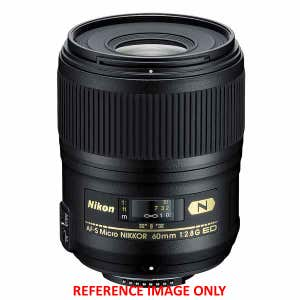 Nikon AF-S Micro 60mm f2.8 G ED - Second Hand