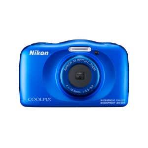 Nikon Coolpix W150 Blue Front