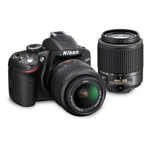 Nikon D3300 + 18-55mm & 55-200mm