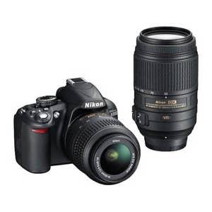 Nikon D3300 + 18-55mm & 55-300mm